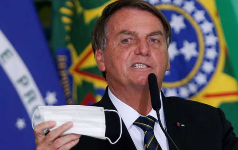 Bolsonaro claimed he was being attacked by the press for his failure to purchase vaccines during 2020