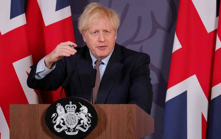 Boris Johnson will present this Tuesday a strategic review of security, defense and foreign policy, the first after the departure of the European bloc.