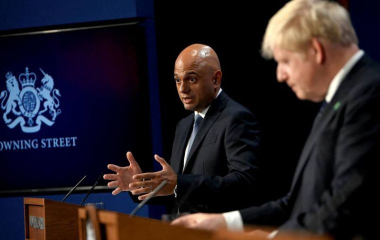"""""""We will be making it clear that our vaccine program is working,"""" Javid said"""