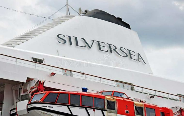 Silverseas cruises moved from Ushuaia to Chile's Punta Arenas and Puerto Williams