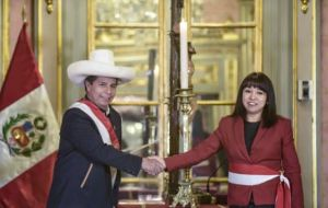 Bellido will be succeded by Mirtha Vásquez, a former Congress Speaker and a native of Cajamarca, Castillo's home region