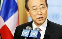 UN new Secretary-General Ban Ki-moon