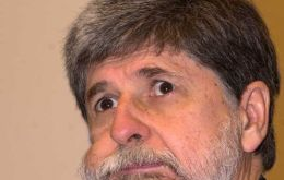 Brazil's Foreign Affairs minister Celso Amorim