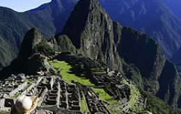 "In the 15th century, the Incan Emperor Pachacútec built a city in the clouds on the mountain known as Machu Picchu (""old mountain"")."