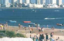 Punta del Este is the biggest resort in Uruguay