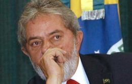 Pte. Lula da Silva speaking at the World Economic Forum in Davos