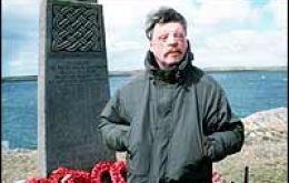 Simon Weston OBE is a living reminder of the events of Fitzroy - and the war as a whole