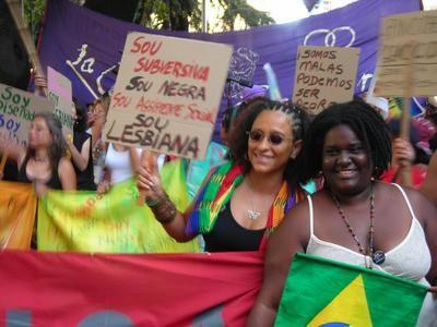 Caribbean lesbians