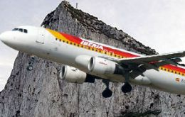 Besides Iberia six airlines are already interested  to fly at the Rock