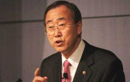 "U. N. Secretary-General Ban Ki-moon: ""We are all complicit in the process of global warming""."