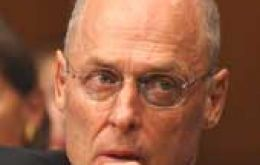 US Treasury Secretary Henry Paulson