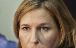 Israel's Tzipi Livni has asked for early general elections