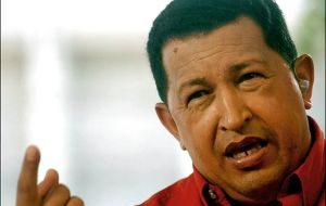 """To the benefit of the middle class"", says Chavez"