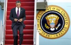 Obama will be pay his first Latam visit to Brazil