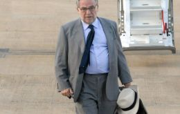 Foreign affairs advisor and trouble shooter Marco Aurelio Garcia will be in Asunción this week
