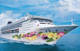 The Malaysian group owns 50% of Norwegian Cruise Lines