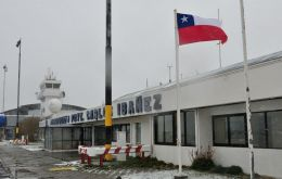 The Punta Arenas airport will receive funds for maintenance of the aircraft taxiing area