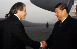 Chinese Vice-President Xi Jinping is currently on an official visit to Uruguay