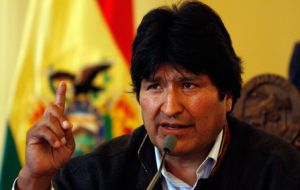 President Evo Morales expelled the US ambassador in 2008