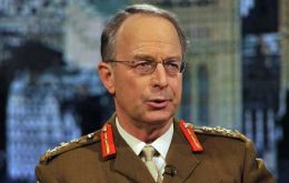 "General Sir David Richards, Chief of the Defence Staff: ""no repeat of the mistake made in 1982"""