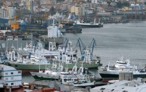 The port of Vigo, hub of the Spanish fishing industry