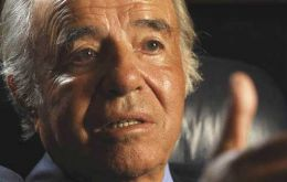Carlos Menem is currently Senator; 85 people were killed in the attack in downtown Buenos Aires