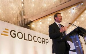 """The acquisition of El Morro was completely proper and consistent with law"", said  Goldcorp CEO Chuck Jeannes"