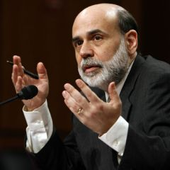 Bernanke said the Fed will purchase additional agency mortgage-backed securities at a pace of 40bn per month