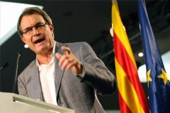Artur Mas' Convergence and Union alliance CiU lost 12 seats and now has 50 out of 135 from the Generalitat