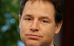 Deputy PM Nick Clegg called for more investment in infrastructure to support growth