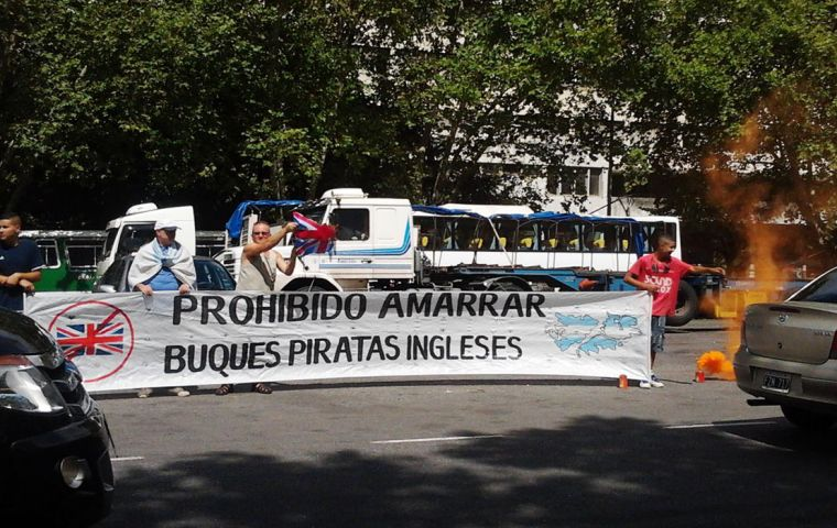 Twelve Argentine 'intimidation' incidents against cruise vessels were reported this last season. (Photo by H. Briley)