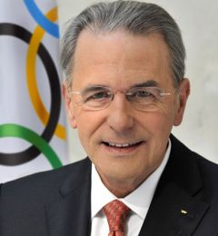 President Rogge: convincing the wider public about the benefits of staging sports' biggest event