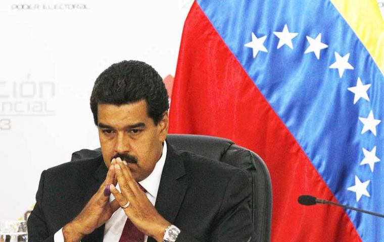 President Nicolas Maduro can't contain promises or inflation