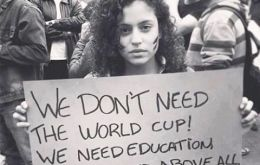 Growing fears that demonstrators could turn out to the streets to protest massive expenditure on the World Cup