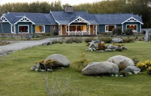 Baez rents most of the posh boutique hotel rooms in El Calafate which belong to the Kirchner family