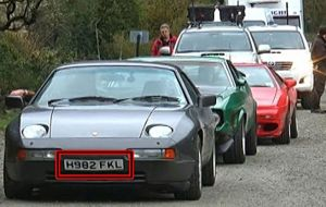 Top Gear was also involved last year in a serious incident in Patagonia when allegedly the cars' plates referred to the 1982 Falklands' conflict