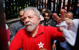 "Speaking to his supporters in Sao Paulo after being released on Friday, Lula said that investigators were ""disrespectful of democracy"" and abusing their authority"