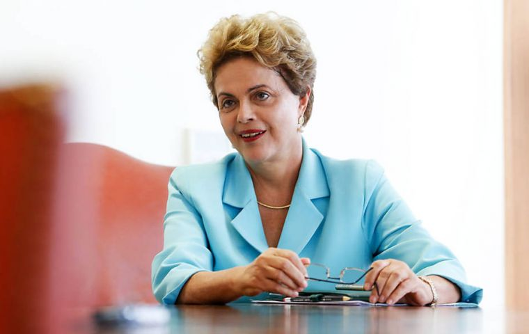 Rousseff told Folha de S. Paulo the revelation of the recordings gives her hope of returning to office.