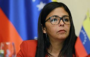 "Delcy Rodriguez is a convinced defender of Venezuela position, but ""I'm not going to get involved in a confrontation dialogue,  my major concern is the world's vision of Mercosur""."