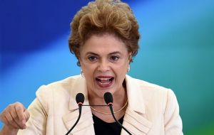 If Rousseff is not impeached it's hard seeing her returning to office since if she couldn't get along with Congress before, much less after the process