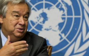 The event was overshadowed by the announcement that Antonio Guterres is expected to be confirmed as next UN Secretary General