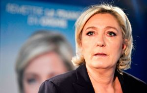 Le Pen vowed to put France's EU membership on referendum, and regardless of who won the election, France would certainly be governed by a woman