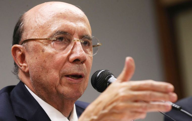Meirelles said the economy recovered quickly from previous episodes of political turbulence when there was no doubt about the future of economic policy.