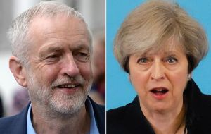It comes as UK-wide polling indicates Labour leader Jeremy Corbyn is closing the gap with Prime Minister Theresa May ahead of the June 8 ballot.