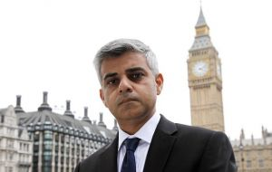 "London Mayor Sadiq Khan said it was ""a deliberate and cowardly attack on innocent Londoners"", but insisted Londoners would not be cowed by terrorism."