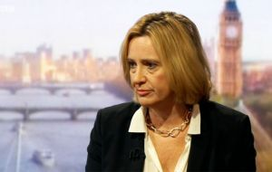 On ITV's Peston on Sunday, Home Secretary Amber Rudd said an international agreement was needed for social media companies to do more to stop radicalization.
