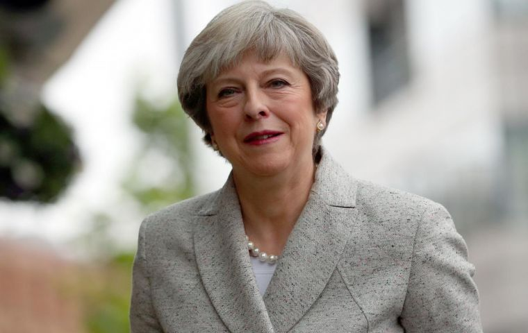 May who has faced calls from within her party to step down, wants to use the Conservatives' annual conference in Manchester to try to reset her agenda